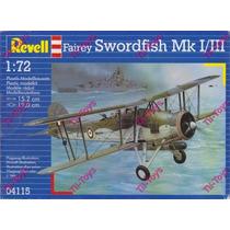 Avion Revell Fairey Swordfish Mk I-iii P/armar 1:72 Kit04115