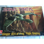 Star Trek Klingon Bird Of Prey Flght Disp Model Kit Amt Ertl