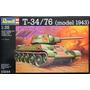 Revell 3244 Tanque T34 76 Modelo 1943 Militar Armar La Plata