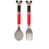 Cubiertos Disney Store Mickey Mouse