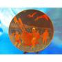 El Arcon Gran Plato De Cobre Repujado Chile 25 Cm 3512