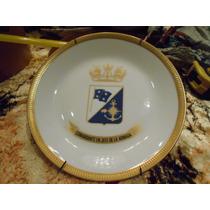 Plato Porcelana Argentina Verbano Armada Argentina