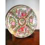 052- Plato Canton Sello Dragon 24 Cm Decorado Oro