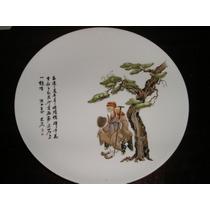 017- Plato De Tortas Fuente Porcelana Tsuji 30 Cm