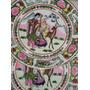 716- Excelente Par De Platos Satsuma-sello Dragon-25cm
