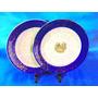 El Arcon Pandal De Platos Porcelana Essex Azul Cobalto 14009
