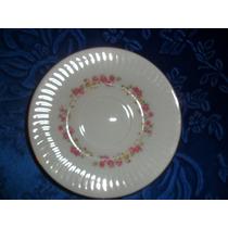 Plato De Café Porcelana Tsuji P/reposición.microcentro-avell