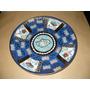 Plato Porcelana Tsuji 24 Cms. Decorado Oro 24 Kilates