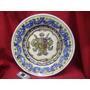Gran Plato De Ceramica Pintado A Mano-diametro 42 Cm