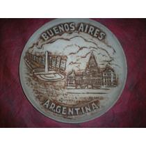 Plato Recordatorio De Buenos Aires Argentina