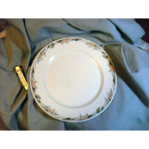 Dudson Plato Ingles De Porcelana Vitrificada Vintage 27 Cm