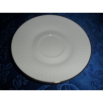 Plato De Café Porcelana Tsuji P/ Reposición.microcentro-avel