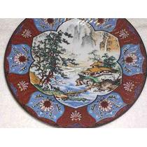 Hermoso Plato Porcelana Tsuji