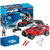 Playmobil 5256 Transportador De Containers