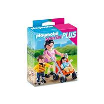 Playmobil 4782 Special Plus Mamá, Niños Y Cochecito