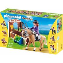 Playmobil 5520 Caballo Exhibicion Con Establo - Mundo Manias