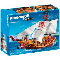 Playmobil 5618 Piratas Gran Barco Pirata - Mundo Manias