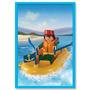 Playmobil 9609 - Bote Con Motor - Original En Caja Sellada