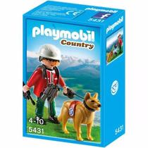 Playmobil 5431 Rescatador De Montaña Con Perro Mundo Manias