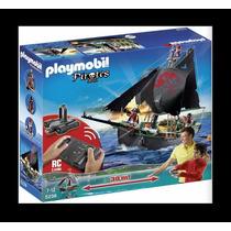 Playmobil 5238 Barco Pirata C/motor A R/c Nuevo E Imp. Z.dvt