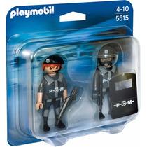 Playmobil Duo Pack 5515 Policias - Mundo Manias