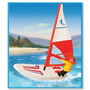Playmobil Tabla De Windsurf Con Motor Original Antex