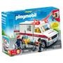 Playmobil Ambulancia De Urgencias 5952 Rescate City Original