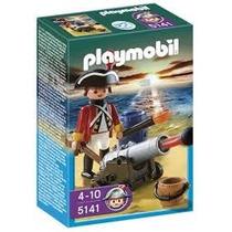 Playmobil 5141 Soldado Con Cañón