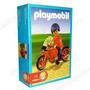 Playmobil 9611 - Hombre En Moto - Original Caja Sellada