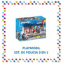 Playmobil - Estacion De Policia 3 En 1 City Action