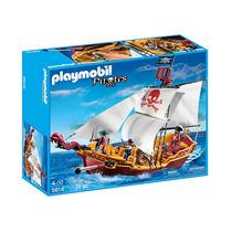 Playmobil Barco Pirata 5618 Original Piratas Juguetespremium