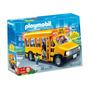 Playmobil 5940 Autobus Micro Escolar Con Luces Y 4 Figuras