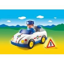 Playmobil 123 6797 Auto De Policia Con Agente