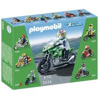 Playmobil 5524 Moto Verde Juguetería El Pehuén