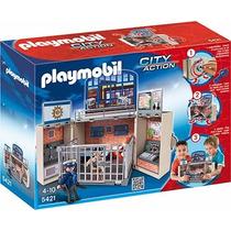 Playmobil 5421 - Cofre Cuartel De Policias - Mundo Manias