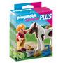 Educando Playmobil Niña Con Caballo 5291