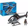 Playmobil 5563 Helicóptero Policía Original!!!