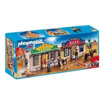 Playmobil 4398 Western Maletin Ciudad Del Oeste