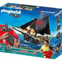 Playmobil Barco Pirata Con Motor Submarino 5238 Original