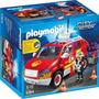 Playmobil 5364 Coche De Bombero Con Luz Y Sonido -palermo