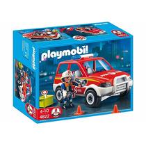 Playmobil 4822 Coche Jefe De Bomberos Original Todoxmia