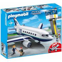 Playmobil 5261 Avion De Pasajeros Jugueteria Bunny Toys