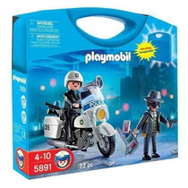 Playmobil City Action Policia Y Ladron Art. 5891