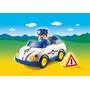 Playmobil Auto De Policia C: 6797 Punto Bebe