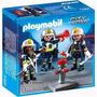 Equipo De Bomberos Playmobil Ploppy 275366