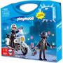 Playmobil 5891 Maleta Maletin Policia Y Ladron Mundo Manias