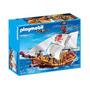 Playmobil Barco Pirata 5618 Original Intek Incluye 3 Piratas