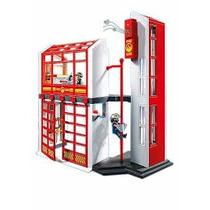 Playmobil Estacion De Bomberos Art. 5361 Con Alarma