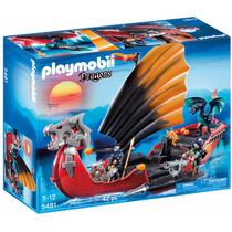 Playmobil 5481 Barco De Batalla Del Dragon - Mundo Manias