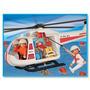 Playmobil Helicoptero De Rescate Original Antex